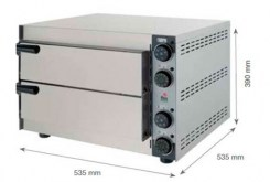 Horno Pizzas Doble O350 245x245